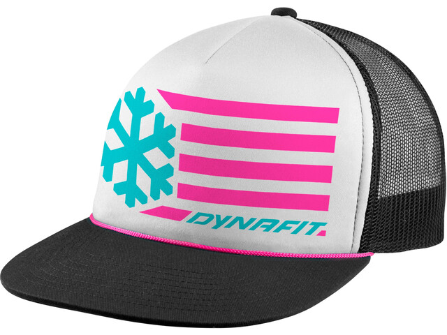 Dynafit Graphic Trucker Cap, white/6070 flag